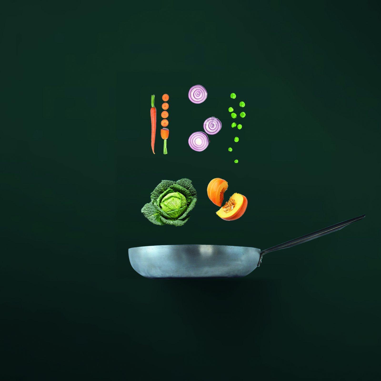 padella e verdure